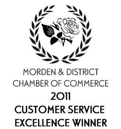 "In 2011 Eagleye was awarded the ""Customer Service Excellence Award"" by the Morden & District Chamber of Commerce"